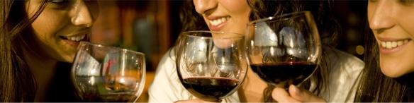 mulheres e vinhos
