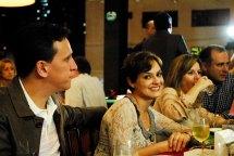 Drs. Geovane e Juliana Higino, Sandra e Luciano Santos