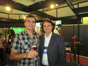 Com Marcelo Copello, diretor da Baco Multimídia, hoje considerado o jornalista especializado em vinhos no Brasil com maior influência no mercado internacional.