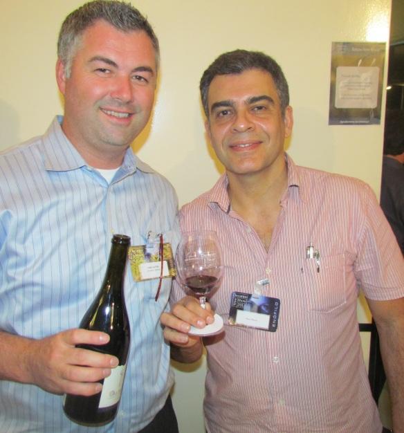 Com Chris Alton, da Craggy Range, a mais premiada vinícola da Nova Zelândia