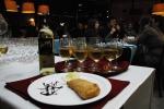 Empanadas Mendocinas e vinho Torrontés.