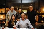 José Loureiro e Neusinha, Sônia, Pedro Faria e Hugo Werneck.