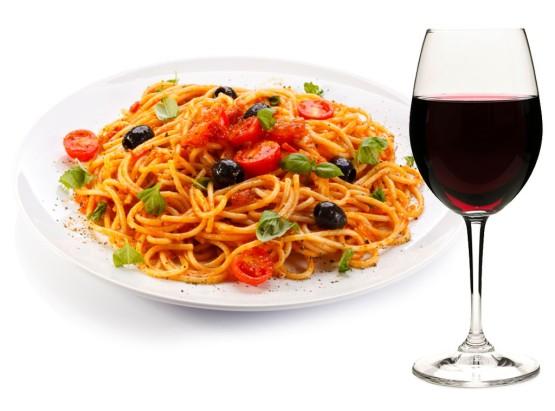 comida e vinho Italia