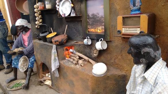 A bucólica cozinha da roça emociona