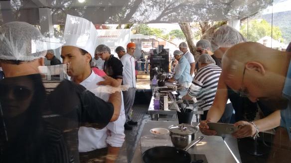 Aulas práticas de culinária concorridas