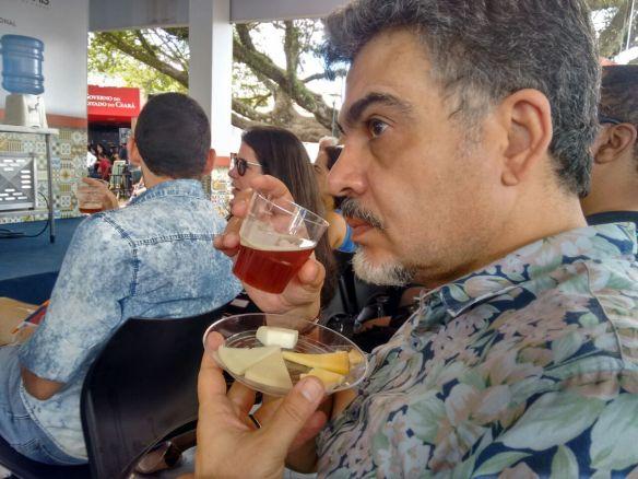 Harmonização entre cervejas artesanais da Walls e queijos especiais de MInas e do Rio